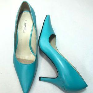 Blue pumps cabrizi size 8